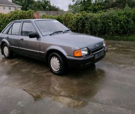 FORD ESCORT MK3 FOR SALE IN LIMERICK FOR €4,600 ON DONEDEAL