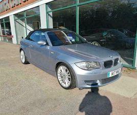 2008 BMW 1 SERIES CONVERTIBLE DIESEL MANUAL
