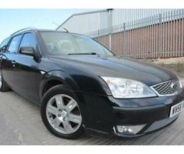 FORD MONDEO GHIA 2.2 TDCI DIESEL ESTATE*12 MONTHS MOT*LOW MILEAGE*ONE OWNER*