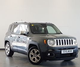 USED 2015 (15) JEEP RENEGADE 1.6 MULTIJET LIMITED 5DR IN INVERNESS