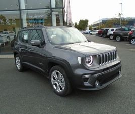 JEEP RENEGADE LIMITED FOR SALE IN DUBLIN FOR €31,445 ON DONEDEAL