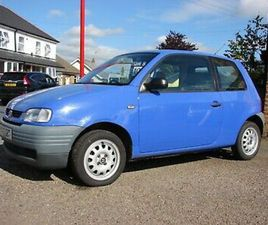 AROSA 1.0CC LOW MILES SOLD WITH NEW 12 MONTHS M.O.T