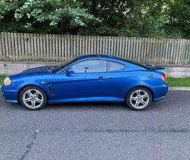HYUNDAI COUPE 2.7 V6, ONLY 52,000 MILES, LONG MOT, DRIVES GREAT