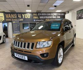 JEEP COMPASS, 2011 FOR SALE IN DERRY FOR £5,500 ON DONEDEAL