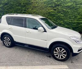 2015 SSANG YONG REXTON 5 SEAT CREW CAB TOP SPEC FOR SALE IN DUBLIN FOR €14,999 ON DONEDEAL