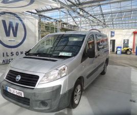 FIAT SCUDO 120 M-JET COMFORT LWB - 1997CC FOR SALE IN DUBLIN FOR €UNDEFINED ON DONEDEAL
