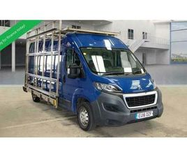 2016 16 PEUGEOT BOXER LWB HIGH ROOF / L3 H2 PROFESSIONAL 335 - 6 SPEED 130 HDI T