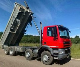 DAF X4 CF 85 410 TIPPER LORRY 1 OWNER FROM NEW 2013
