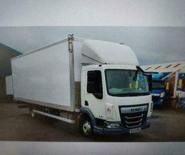 DAF TRUCKS LF180-75 5METRE WHEELBASE 24FT BOX BODIE VERY LOWS KLMS