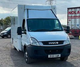 2011 61 PLATE IVECO DAILY 50C14 PRISON VEHICLE CELL BLOCK IDEAL CAMPER RECOVERY
