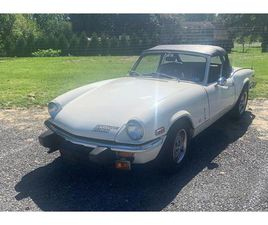 FOR SALE AT AUCTION: 1975 TRIUMPH SPITFIRE IN CARLISLE, PENNSYLVANIA