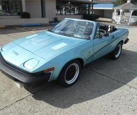 FOR SALE AT AUCTION: 1980 TRIUMPH TR8 IN CARLISLE, PENNSYLVANIA