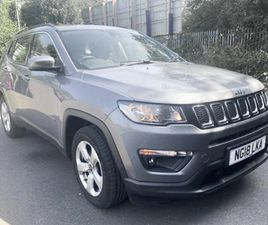 USED 2018 JEEP COMPASS 1.6 MULTIJET 120 LONGITUDE 5DR [2WD] IN LINWOOD