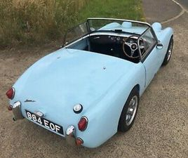AUSTIN HEALEY FROGEYE SPRITE 1960 ALL STEEL INCLUDING THE BONNET, HAD ££££ SPENT