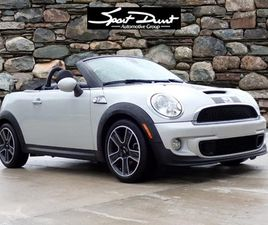 SILVER COLOR 2014 MINI COOPER ROADSTER S FOR SALE IN DURHAM, NC 27707. VIN IS WMWSY3C50ET5
