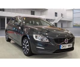 USED 2017 VOLVO V60 D4 [190] BUSINESS EDITION LUX 5DR ESTATE 93,000 MILES IN GREY FOR SALE