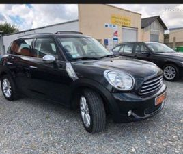 MINI COUNTRYMAN 1,6 D 112 PACK RED HOT CHILI TOIT OUVRANT