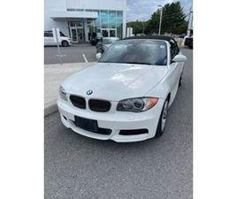 2008 BMW 1 SERIES CABRIOLET PREMIUM PACKAGE