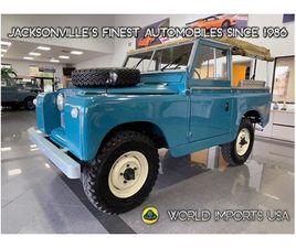 1967 LAND ROVER SERIES II SWB SOFT TOP - (COLLECTOR SERIES)
