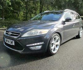 2014 FORD MONDEO ESTATE DIESEL AUTOMATIC