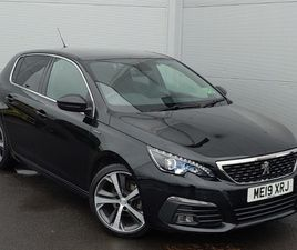USED 2019 (19) PEUGEOT 308 1.2 PURETECH 130 GT LINE 5DR IN LINWOOD