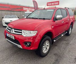MITSUBISHI L 200 TROJAN DI-D LOW MILEAGE FOR SALE IN MEATH FOR €15,950 ON DONEDEAL