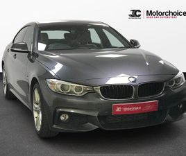 BMW 4 SERIES GRAN COUPE 2.0 420D M SPORT GRAN COUPE AUTO XDRIVE (S/S) 5DR