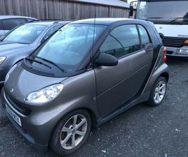 SMART, FORTWO COUPE, COUPE, 2009, SEMI-AUTO, 799 (CC), 2 DOORS