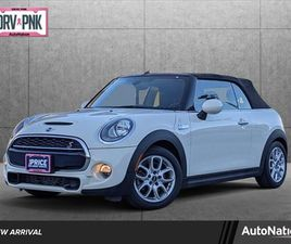 WHITE COLOR 2016 MINI COOPER CONVERTIBLE S FOR SALE IN TOWSON, MD 21204. VIN IS WMWWG9C52G