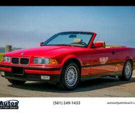 1995 BMW 3-SERIES 318I CONVERTIBLE 2D