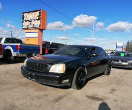 USED 2003 CADILLAC DEVILLE *LEATHER*WHEELS*BLACKED OUT*ONLY 114KMS*CERT