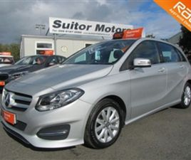 USED 2015 MERCEDES-BENZ B CLASS 1.6 B180 SE 5D 121 BHP MPV 32,000 MILES IN SILVER FOR SALE