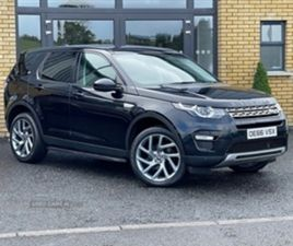 USED 2017 LAND ROVER DISCOVERY SPORT DIESEL SW ESTATE 80,000 MILES IN BLACK FOR SALE   CAR