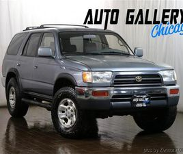 FOR SALE: 1997 TOYOTA 4RUNNER IN ADDISON, ILLINOIS