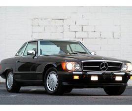 1989 MERCEDES-BENZ 560SL 18K ORIGINAL MILES | RARE REAR SEAT OPTION