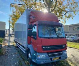 DAF LF 55 220 AUTOMAAT BOX TRUCK CLOSED LIFT