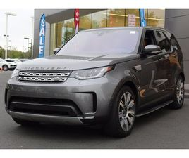 USED 2017 LAND ROVER DISCOVERY HSE