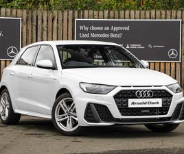 NEARLY NEW 2021 AUDI A1 35 TFSI S LINE 5DR S TRONIC IN DUMFRIES
