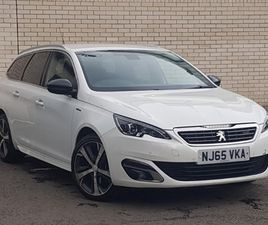 USED 2015 PEUGEOT 308 2.0 BLUEHDI 150 GT LINE 5DR EAT6 IN KIRKCALDY