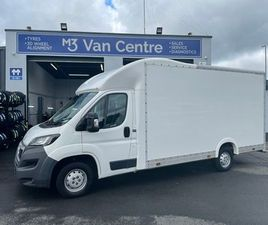 2015 PEUGEOT BOXER LUTON BODY FOR SALE IN DUBLIN FOR €16,950 ON DONEDEAL