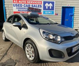 131 KIA RIO 1.2 DIESEL (NCT& TAXED) FOR SALE IN DUBLIN FOR €6,750 ON DONEDEAL