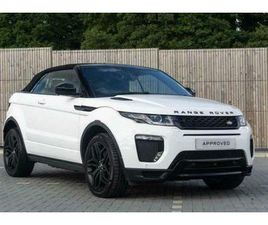 2017 LAND ROVER RANGE ROVER EVOQUE 2.0 TD4 HSE DYNAMIC LUX 2DR AUTO CONVERTIBLE