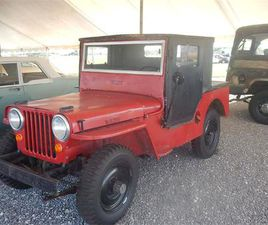 FOR SALE: 1948 JEEP WILLYS IN CELINA, OHIO