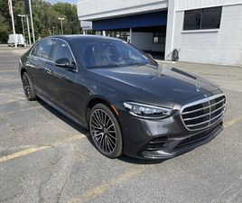 BRAND NEW GRAY COLOR 2021 MERCEDES-BENZ S-CLASS S 580 4MATIC FOR SALE IN WEST CALDWELL, NJ