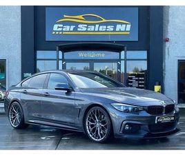 2018 BMW 4 SERIES 3.0TD 430D M SPORT (258BHP) (S/S) GRAN COUPE 5D - £24,450