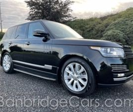 USED 2014 LAND ROVER RANGE ROVER DIESEL ESTATE NOT SPECIFIED 115,000 MILES IN BLACK FOR SA