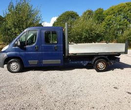 2013 PEUGEOT BOXER 2.2 HDI 130 BHP DROP SIDE £600 MOT JUST DONE 1 OWNER PX SWAPS
