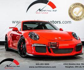 USED 2015 PORSCHE 911 911 GT3/PDK/GUARDS RED/ALCANTARA/20 WHEELS