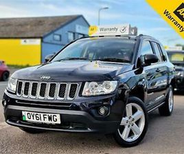2011 JEEP COMPASS CRD LIMITED ESTATE DIESEL MANUAL