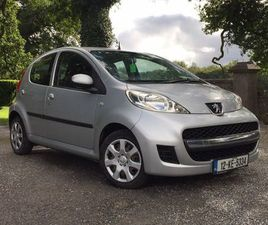 PEUGEOT 107 NEW NCT TODAY 08-2023 FOR SALE IN KILDARE FOR €4,850 ON DONEDEAL